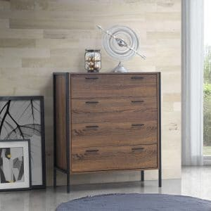 Stretton 4 Drawer Chest of Drawers Wenge Oak